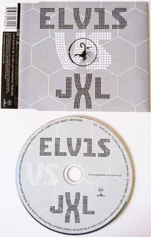 Elvis Presley vs JXL - A Little Less Conversation (CD Single) (Promo) VG-/VG)